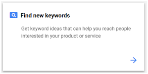 find new keywords